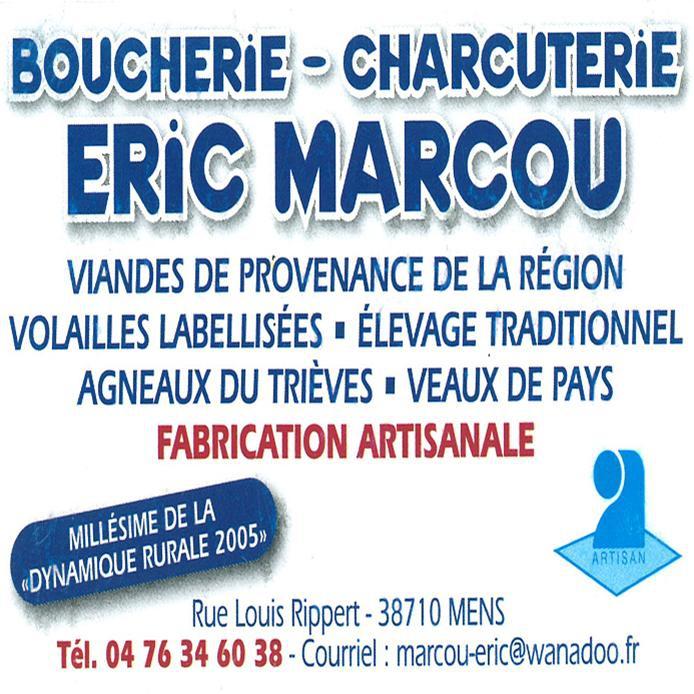 Boucherie charcuterie Eric Marcou à Mens
