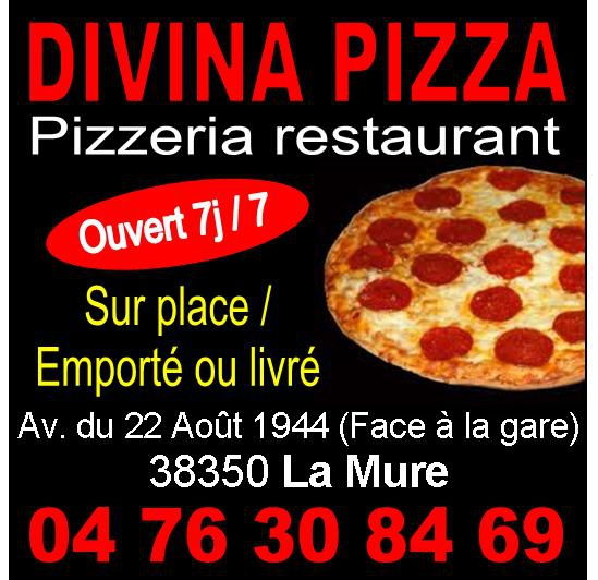 Divina Pizza La Mure