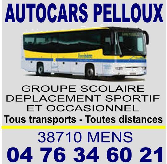 Autocars Pelloux à Mens