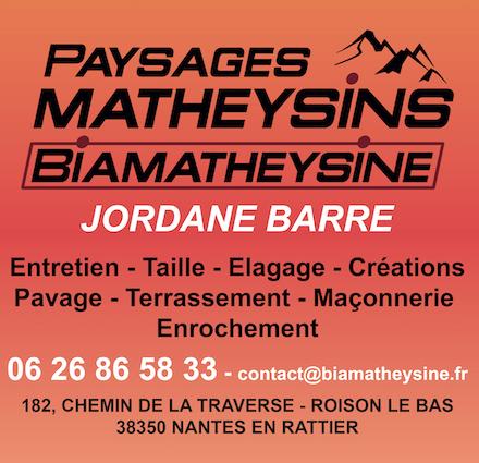 BiaMatheysine - Jordane Barre