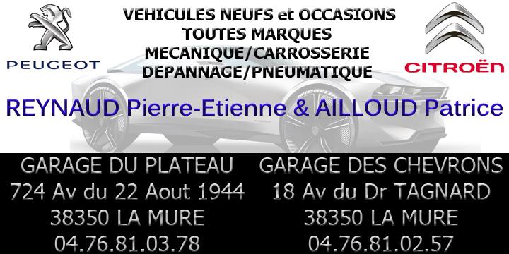 Garages Peugeot et Citroën à La Mure