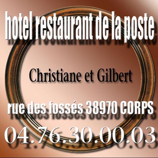 Hôtel restaurant de La Poste à Corps