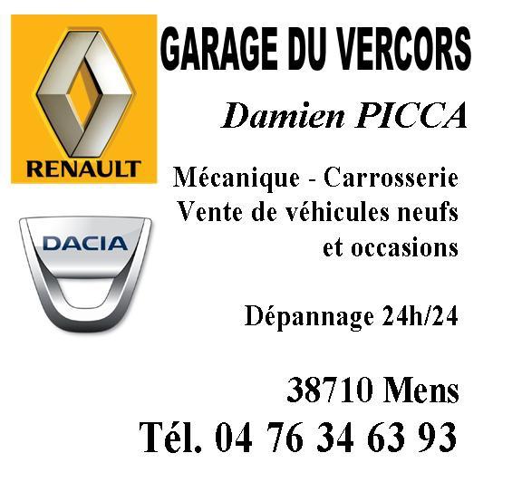 Garage du Vercors Damien Picca à Mens