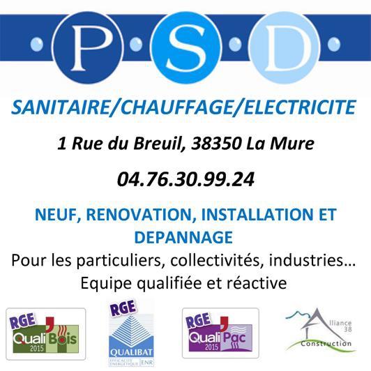 Plomberie Sud Dauphiné PSD à la Mure