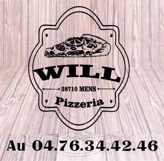 Will pizzeria à Mens