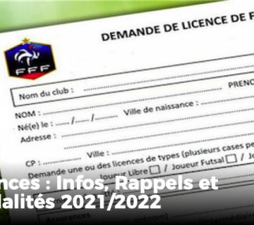 Licences 2021-2022